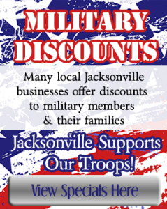 jacksonville florida military discounts